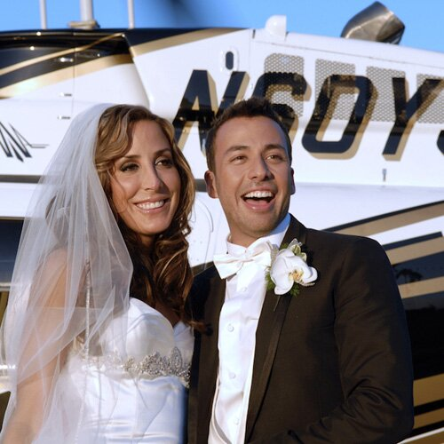 Howie and Leigh - Celebrity Wedding