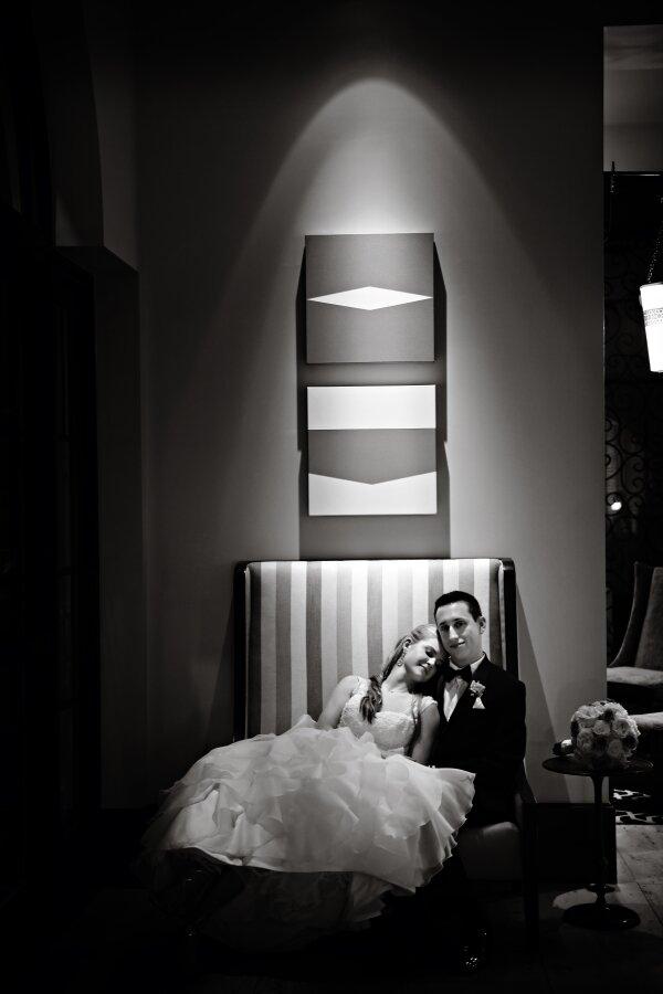 Purple Wedding, Regina Hyman Photography