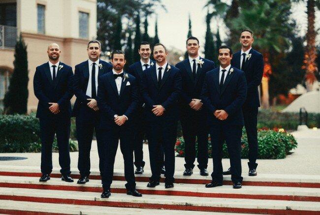 Winter Wedding, Groomsmen