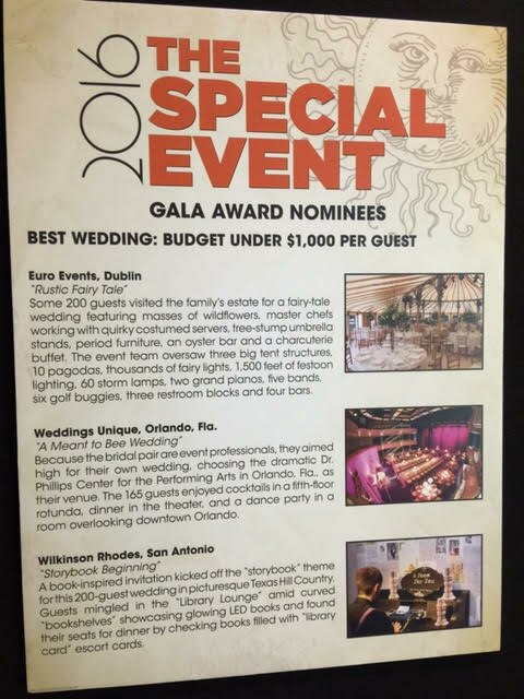 Special Events Gala Best Wedding