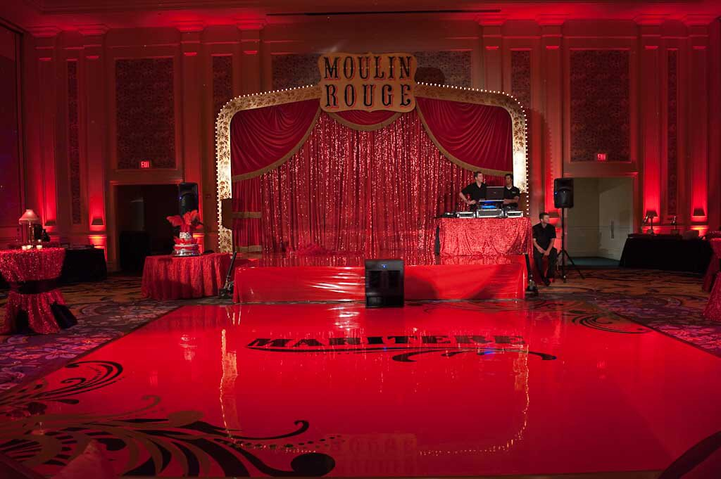 Sweet 16 Moulin Rouge Weddings Unique